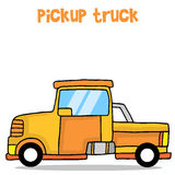 Cartoon pickup truck vector art Stock Photos