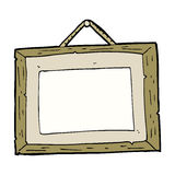 cartoon picture frame Stock Images