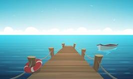 Free Cartoon Pier Royalty Free Stock Photos - 90739798