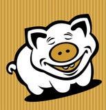Cartoon pig Stock Photos