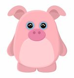 Cartoon pig Royalty Free Stock Image