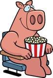 Cartoon Pig Movies Stock Photos