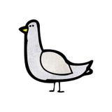 cartoon pigeon Royalty Free Stock Photo