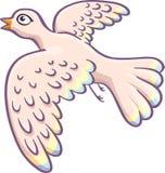 Cartoon pigeon Royalty Free Stock Image