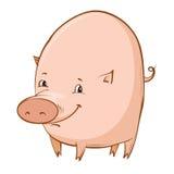 Cartoon piglet Stock Photo