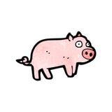 Cartoon piglet Stock Photos