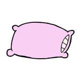 cartoon pillow Stock Image