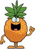 Cartoon Pineapple Idea Royalty Free Stock Photo
