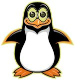 Cartoon_pinguin_01 Стоковая Фотография