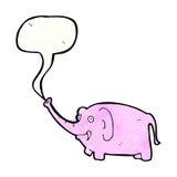 cartoon pink elephant Royalty Free Stock Photos