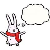 Cartoon pink rabbit Royalty Free Stock Photography