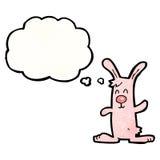 Cartoon pink rabbit Royalty Free Stock Photo