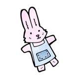 Cartoon pink rabbit Royalty Free Stock Images