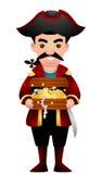 Cartoon Pirate Stock Photo