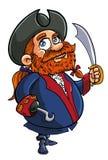 Cartoon pirate captain Stock Photo