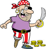 Cartoon pirate Stock Photo