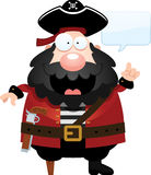 Cartoon Pirate Talking Royalty Free Stock Photo