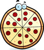 Cartoon Pizza Pie Royalty Free Stock Image