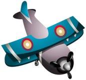 Cartoon Plane Stock Image