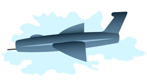 Cartoon plane Royalty Free Stock Image