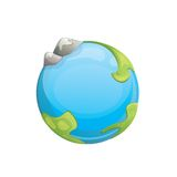 Cartoon planet Royalty Free Stock Photo