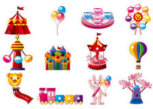 Cartoon Playground icon Royalty Free Stock Photo