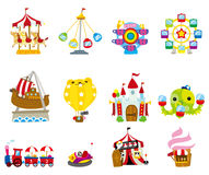 Cartoon playground icon Stock Photo