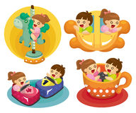 Cartoon playground icon Royalty Free Stock Images
