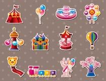 Cartoon Playground stickers Stock Image