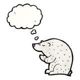 Cartoon polar bear Royalty Free Stock Photography