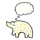 Cartoon polar bear Stock Images