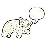 Cartoon polar bear Royalty Free Stock Image