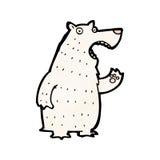 Cartoon polar bear Royalty Free Stock Photo