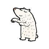 Cartoon polar bear Royalty Free Stock Images