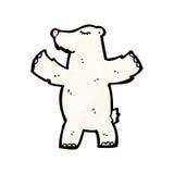 Cartoon polar bear Stock Image