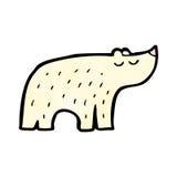 Cartoon polar bear Royalty Free Stock Photos