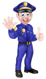 Cartoon Policeman Royalty Free Stock Image