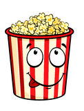 Cartoon popcorn Royalty Free Stock Image