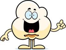 Cartoon Popcorn Idea Royalty Free Stock Photos