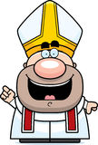 Cartoon Pope Idea Royalty Free Stock Image