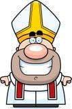 Cartoon Pope Smiling Royalty Free Stock Photos