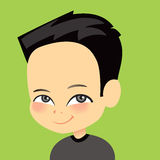 Cartoon portrait Royalty Free Stock Image
