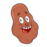 Cartoon potato Stock Photo