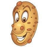 Cartoon Potato character Stock Photos
