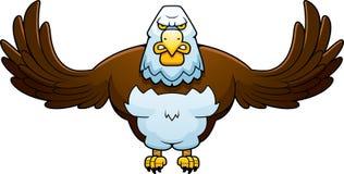 Cartoon Powerful Eagle Stock Photos