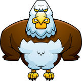 Cartoon Powerful Eagle Royalty Free Stock Images