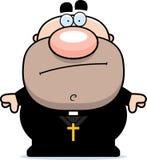 Cartoon Priest Bored Royalty Free Stock Photo