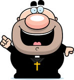 Cartoon Priest Idea Stock Photo