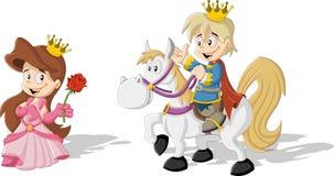 Cartoon princess Royalty Free Stock Image