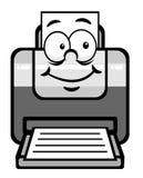 Cartoon printer Royalty Free Stock Photo